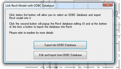 Exposing the Revit Database (very cool) » What Revit Wants