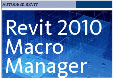 Revit 2010 Macro Manager - AUGIWorld Magazine