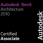 I am now a Autodesk Revit Architecture 2010 Certified Professional