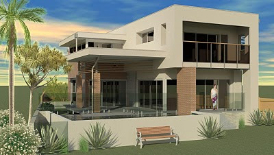Waterfront Villa - Dimond Architects