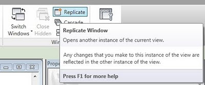 Revit 2011 Secret #13 - Replicate Window