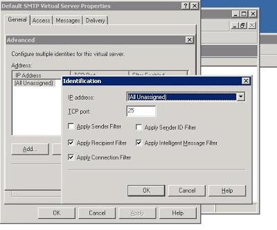 Fighting Spam on Exchange Server 2003