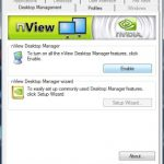 Using Nvidia nview with Windows 7 64-bit