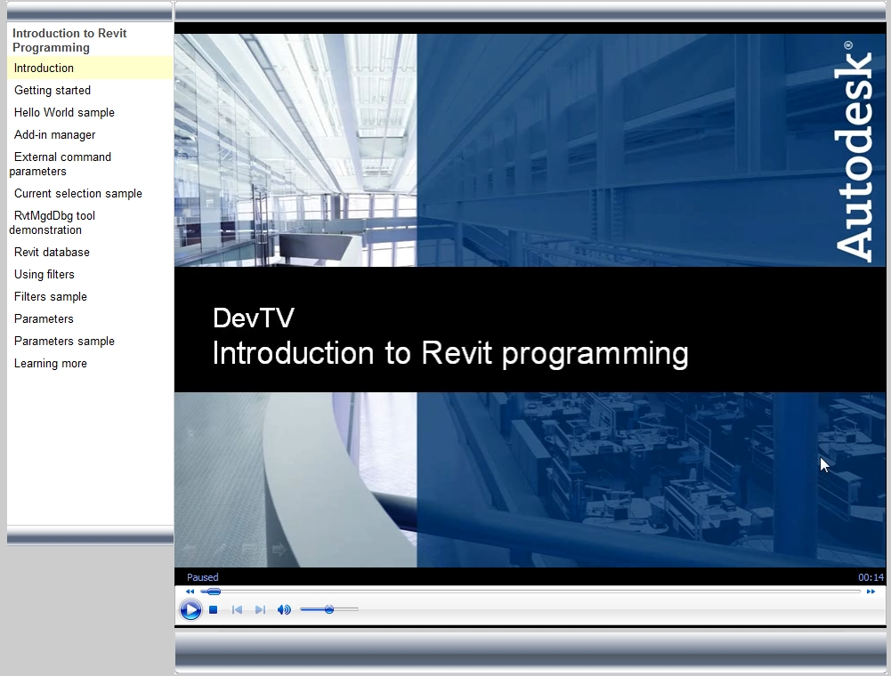 Introduction to Revit Programming » What Revit Wants