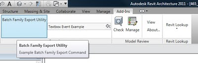 Save All Families in a Project to RFAs and Folders AUTOMATICALLY