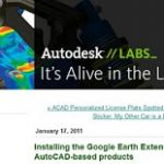 Installing the Google Earth Extension for AutoCAD-based products – It is Alive in the Lab