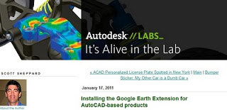 Installing the Google Earth Extension for AutoCAD-based products - It is Alive in the Lab