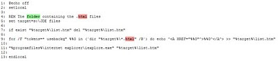 Batch print HTML files in folder