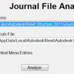 Revit Journal Analyzer - boost your productivity!