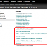 Revit 2012 Web Update 1 – What did it Fix?