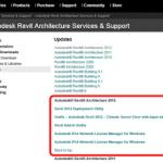 Revit 2012 Web Update 1 – What did it Fix?