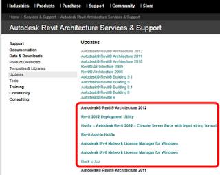 Revit 2012 Web Update 1 - What did it Fix?