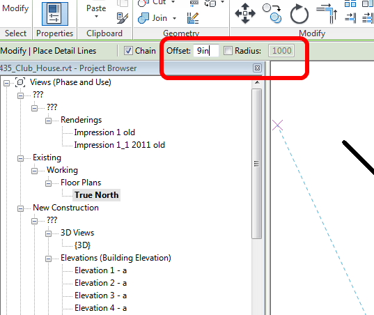 how to change units in revit