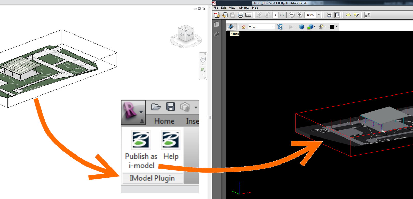 Create 3D PDF files from Autodesk Revit for free » What Revit Wants