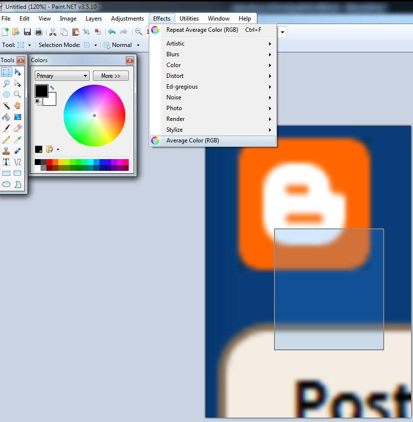Where To Find Average Blur In Paint Net