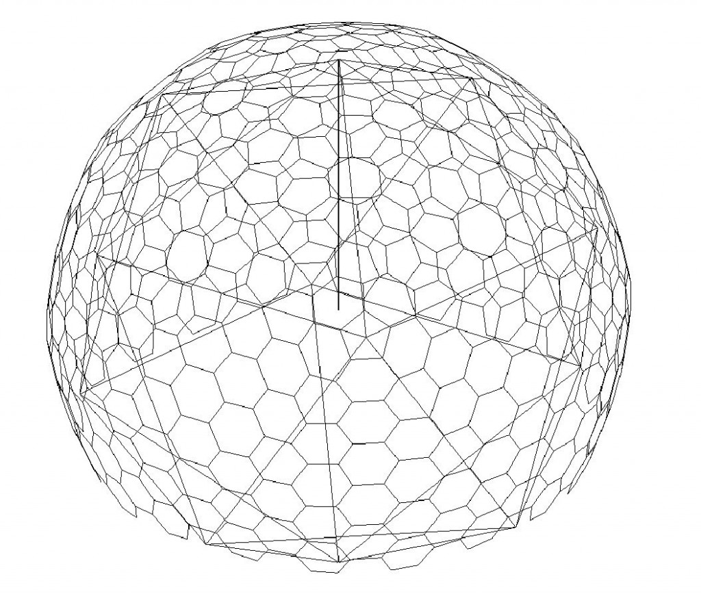Making a pseudo Geodesic Dome in Revit