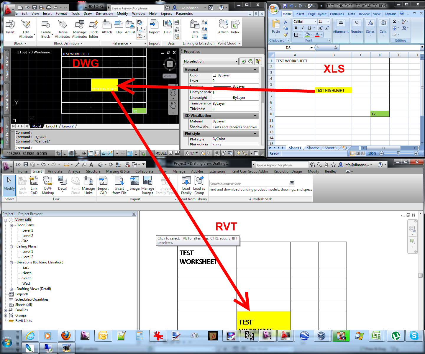 worksheet Link Data In Excel Worksheets link excel spreadsheet data into revit what wants revitcity com importing revit