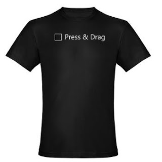 Press and Drag = 0