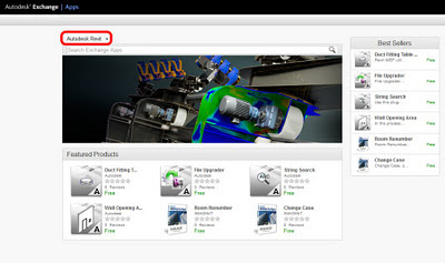 Autodesk Exchange now with Revit Apps!