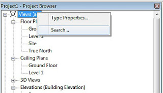 Project Browser Search - Revit 2013