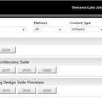 New Subscription Product Download interface – ready for Revit 2013 !