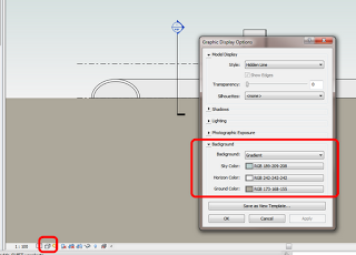 Revit 2013 - View Background
