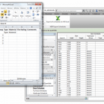 Wiip ExportSchedules - all Schedules exported to Excel in one click