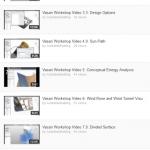 Vasari Workshop videos (playlist)