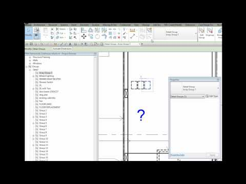 How to find Array Groups in the Revit 2013 Project Browser