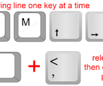 How to override Room Separation lines using the Keyboard only