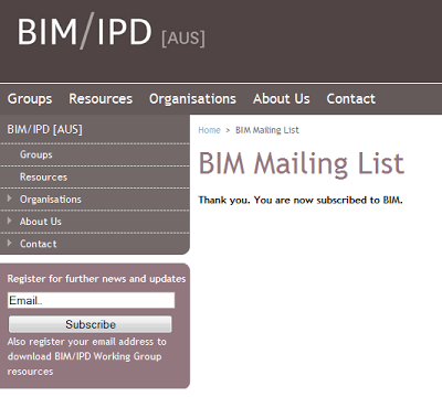 Australian BIM and IPD Resources