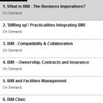 Collaborative BIM Series Webinars
