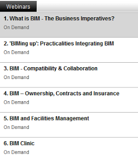 Collaborative BIM Series Webinars