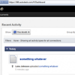 Using Autodesk Cloud as an auto-Syncing online file store