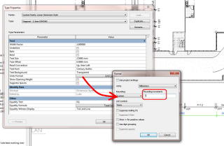 Revit Prank 2 – custom dimension rounding