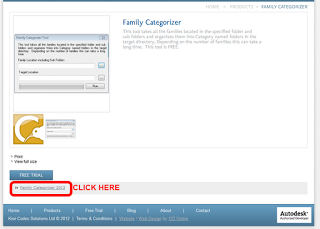 Free utility that will sort all of your families by Category!