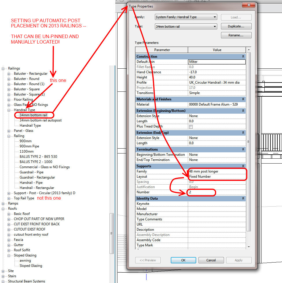 automatic and manual railing support locations in revit 2013 what rh wrw is manual revit 2013 pdf manuale revit 2013