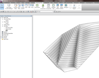 Using meshmixer to morph your Revit Topography