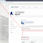 """""""Download Revit 2014"""" in Autodesk page title... (image)"""