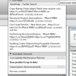 Add the RevitHelp Twitter Feed to your Revit Communications Center