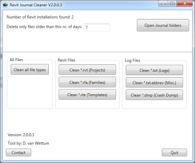 Revit Journal Cleaner updated for 2014 (download)