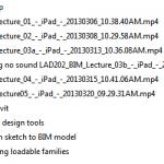 Course materials for download - Revit for Landscape Architecture