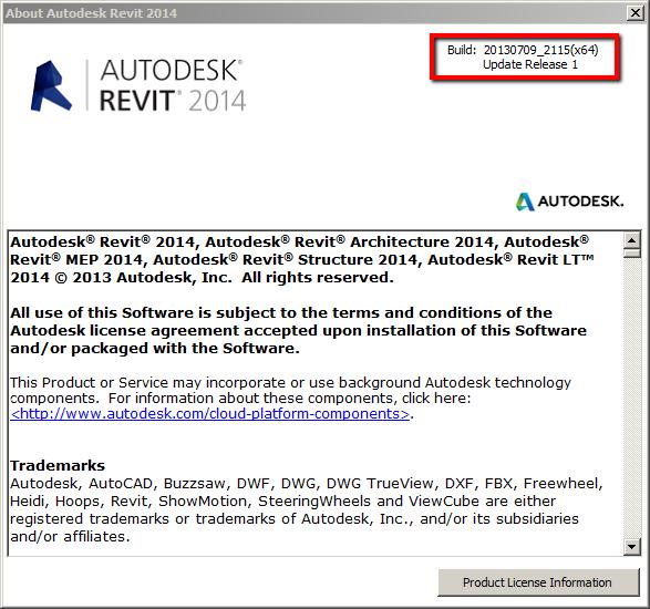 Revit 2014 Web Update 1