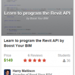 Learn the Revit API from the best Revit programmer in the world