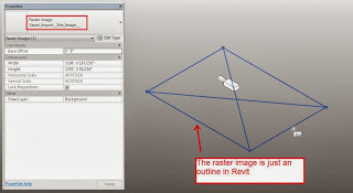 Using an Image Background for 3D Masterplanning in Revit