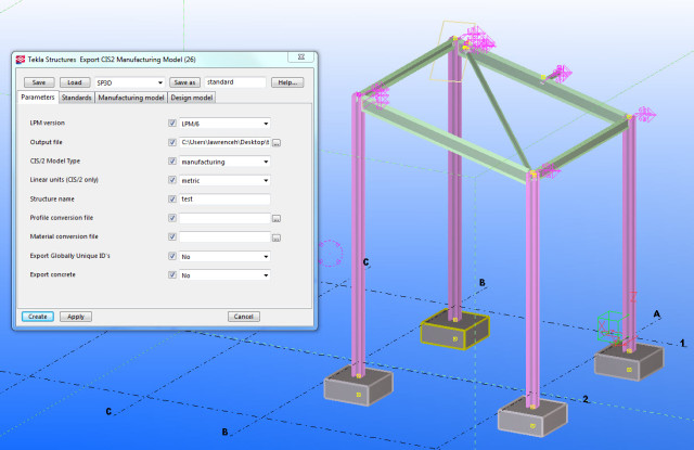 Tekla and Revit 2014