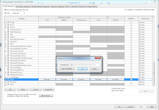 Showing Structural Column Cut Pattern from a Linked Revit File through Walls in a Host