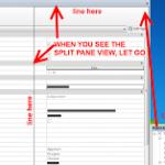 Split Pane Views in Revit 2014