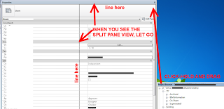 Split Pane Views in Revit 2014