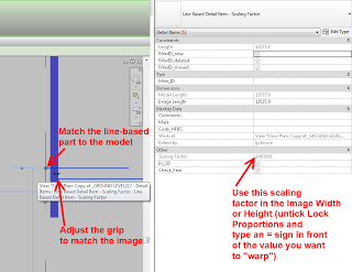 Take the Guesswork out of Scaling an Image in Revit